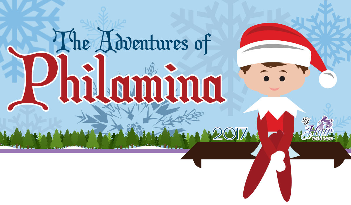 Philamina, the adventures, elf, salon