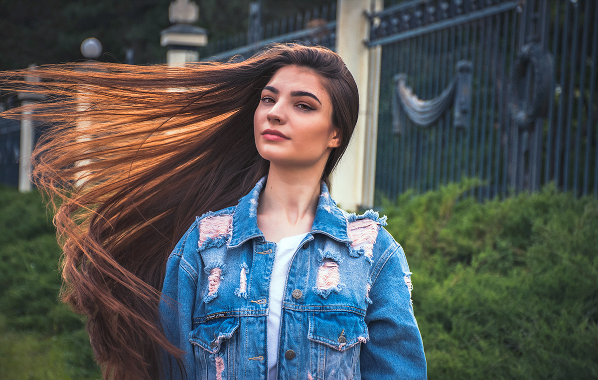 LJ Hair design, long hair, how to maintain long hair, long hair care, hair care